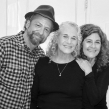Paul Zollo, Carole King, Louise Goffin