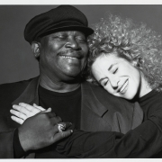 A pair of Kings! (B.B. King & Carole King), Las Vegas, NV 1993. Photo by Herb Ritts