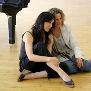 Behind the scenes with Grammy-nominee Vanessa Carlton and Carole King. Photo by PRP
