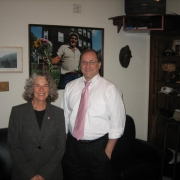 With Congressman Michael Capuano (D-MA). - 2008