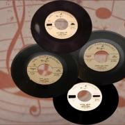 ABC Paramount Singles. Photo collage by Elissa Kline