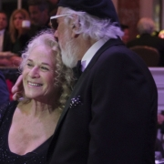 Carole King, Lou Adler - BMI Awards. Photo by Elissa Kline