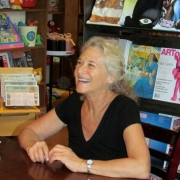 Iconoclast Books, Ketchum, Id. July 7, 2012 signing. Photo by Sarah Hedrick