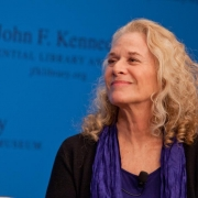 """""""A Natural Woman"""" Kennedy Library signing- Tom Fitzsimmons/Kennedy Library Foundation"""