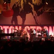 Carole King & James Taylor & band rock Boston Strong. Photo by Elissa Kline