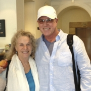 Carole & Russ Kunkel off to work! Brisbane, Australia. Photo by Elissa Kline