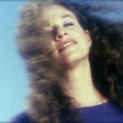"Carole King, 1983  ""Speeding Time"" cover shot. Photo by Jim Shea"