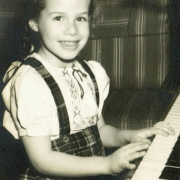 Carole age 4. Carole King Family Archives