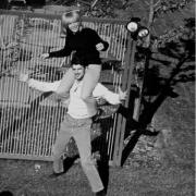 Carole & Gerry in West Orange, NJ. Carole King Family Archives