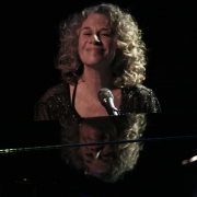 Carole feeling the joy... Troubadour 2007. Photo by Elissa Kline