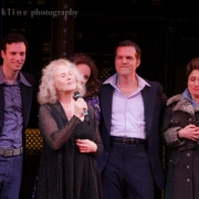 Having raised $30,000 for Broadway Cares, Carole kept her word and sang a song. Photo by Elissa Kline