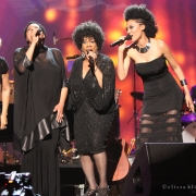 """Way Over Yonder"" Darlene Love, Lisa Fischer, Merry Clayton & Judith Hill (20 Ft. From Stardom). Photo by Elissa Kline"