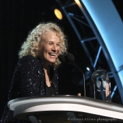 Carole King accepting MusiCares Person Of The Year Award. Photo by Elissa Kline