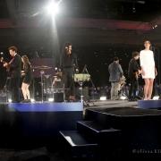 """Beautiful"" Jason Mraz, Zac Brown, Sara Bareilles& Raining Jane. Photo by Elissa Kline"