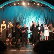 """I Feel The Earth Move"" Reprise Entire Cast. Photo By Elissa Kline"