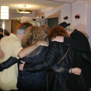 The Circle... pre-show ritual - Radio City. Photo by Elissa Kline