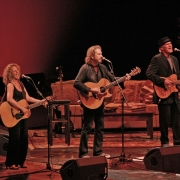 "Carole, Gary & Rudy play ""Smackwater Jack"" at Radio City. Photo by Elissa Kline"