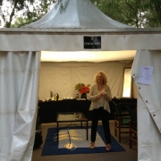 Carole's Dressing Tent, Leeuwin Estate - Margaret River,  Australia. Photo by Elissa Kline