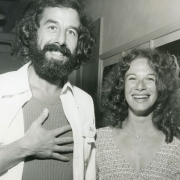 Lou Adler & Carole King circa 1971. Photo by Jim McCrary fro the collection of Lou Adler