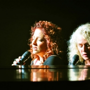Gloria Estefan & Carole King.  Photo by Rolland Ryan