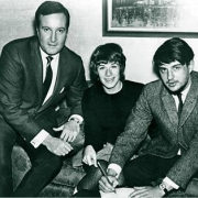 Don Kirshner, Carole & Gerry. Carole King Family Archives
