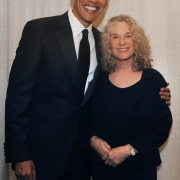 With President Obama in Washington, DC.  Photo by Ruthi David