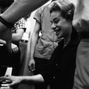Carole at the piano,  RCA Studio in New York City 1959. Photos Courtesy of Sony Music Entertainment Archive
