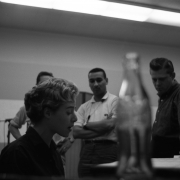 Carole  in Studio B of the RCA Studio in New York City 1959.    Photos Courtesy of Sony Music Entertainment Archive