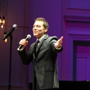 "Michael Feinstein performing ""Music"".  Photo by Elissa Kline"