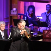 "Arturo Sandoval joined Patti Austin on ""Jazzman"".   Photo by Elissa Kline"