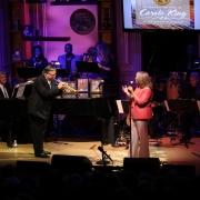 Arturo Sandoval & Patti Austin. 2013 Gershwin Prize Library of Congress Concert.  Photo by Elissa Kline