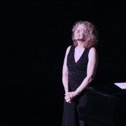 Carole basking in the love...  Portland. Photo by Elissa Kline