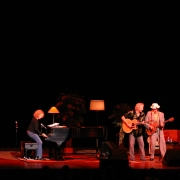 Carole King, Gary Burr & Rudy Guess - Portland. Photo by Elissa Kline