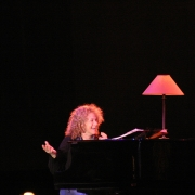 Carole shares a laugh - Seattle. Photo by Elissa Kline