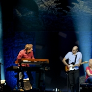 Adelaide, Austrailia - Robbie Kondor, James Taylor, Carole King. Photo by Elissa Kline