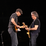 Toronto - James Taylor, Danny Kortchmar. Photo by Elissa Kline