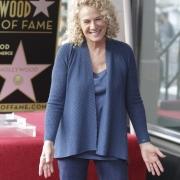 Carole gets her star. Photo by Elissa Kline