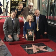Carole with Kristin Chenoweth, Lou Adler, Leron Gubler and Councilman Tom La Bong