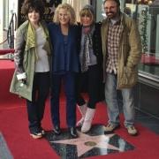 with Carol Bayer Sager, Cynthia Weil & Barry Mann. Photo by Elissa Kline