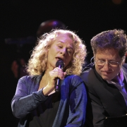 Washington DC - Carole King, Robbie Kondor. Photo by Elissa Kline