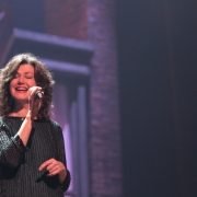 "Amy Grant performing ""It's Too Late"".  Photo by Elissa Kline"