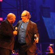 Co-hosts Quincy Jones & Jack Nicholson.  Photo by Elissa Kline