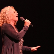 """Beautiful""... Carole King.  Photo by Elissa Kline"