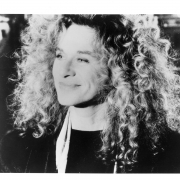 Carole King, New York, NY 1988	.  Photo by Caroline Greyshock