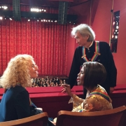 Honorees Carole King, Seiji Ozawa & Cicely Tyson Photo by Sherry Goffin Kondor