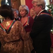 All 5 honorees at the White House reception  Photo by Louise Goffin